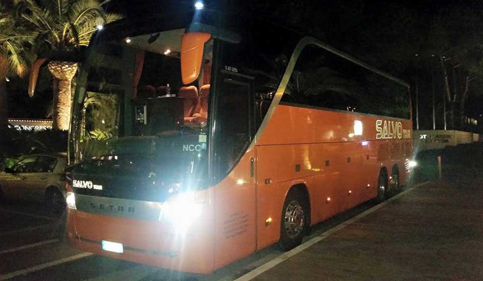 SETRA by night
